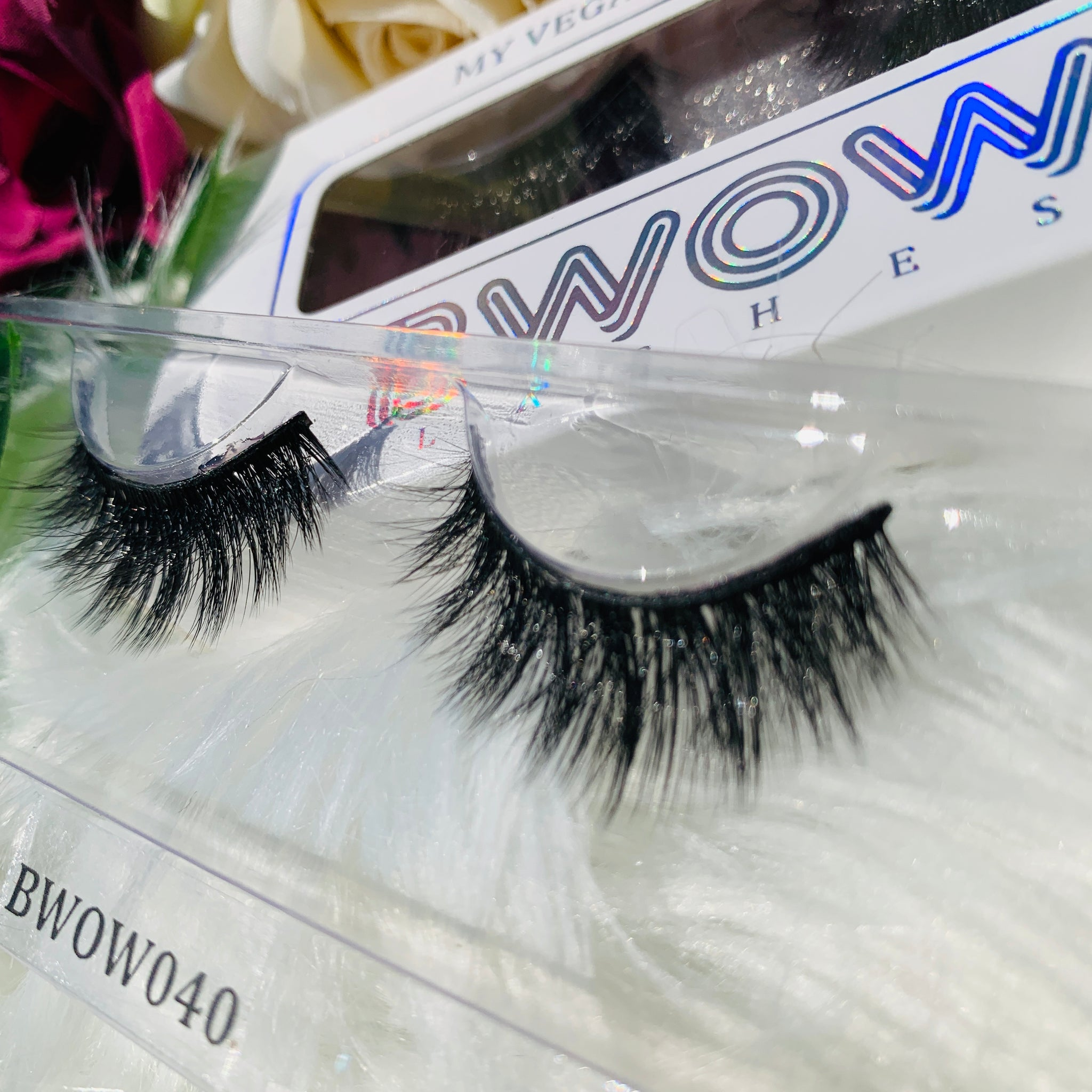 MY VEGAN SILK PROTEIN LASHES BWOW040 - BWOW Cosmetics