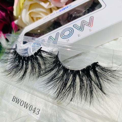 MY 5D LUXURY LASHES BWOW043 - BWOW Cosmetics