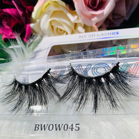 MY 5D LUXURY LASHES BWOW045 - BWOW Cosmetics