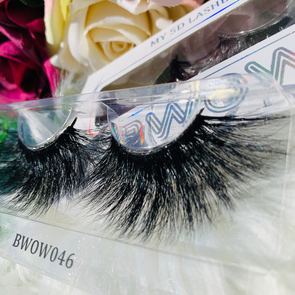 MY 5D LUXURY LASHES BWOW046 - BWOW Cosmetics