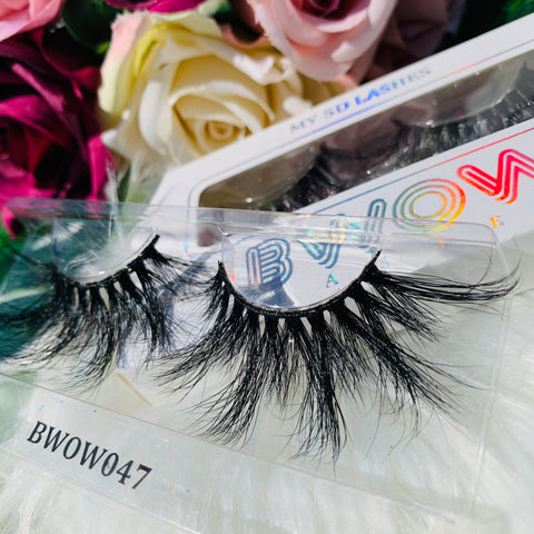 MY 5D LUXURY LASHES BWOW047 - BWOW Cosmetics