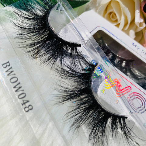 MY 5D LUXURY LASHES BWOW048 - BWOW Cosmetics