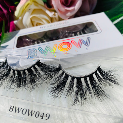 MY 5D LUXURY LASHES BWOW049 - BWOW Cosmetics