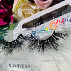 MY 5D LUXURY LASHES BWOW050 - BWOW Cosmetics