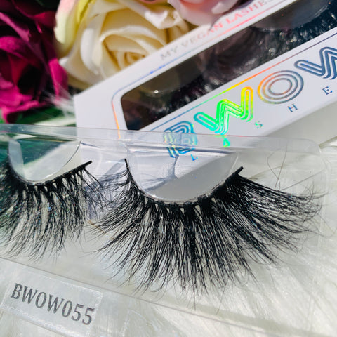 MY 5D LUXURY LASHES BWOW055 - BWOW Cosmetics