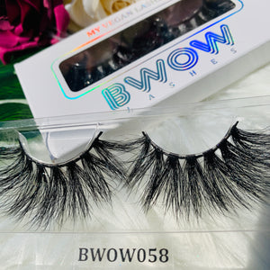 MY 5D LUXURY LASHES BWOW058 - BWOW Cosmetics