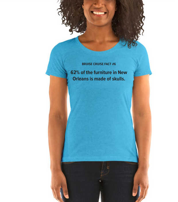 Fact #6: New Orleans Women's T-shirt