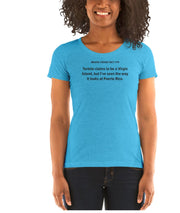 Fact #79: Tortola claims to be a Virgin Island Women's T-shirt