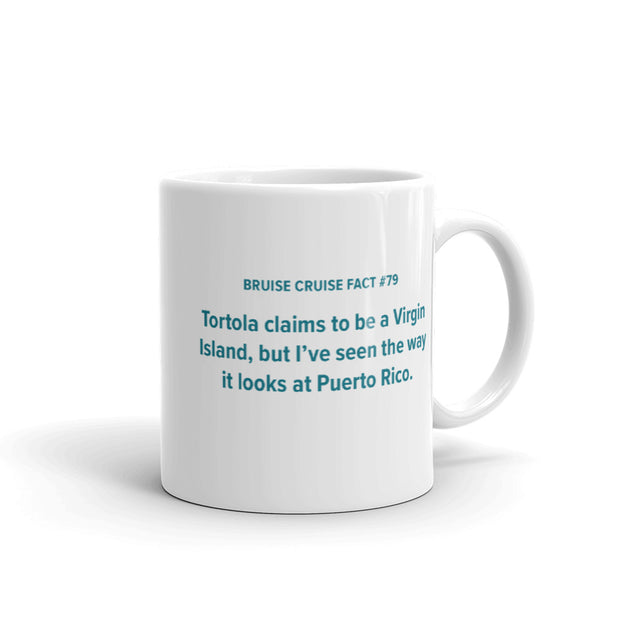 Fact #79: Tortola claims to be a Virgin Island Glossy Mug