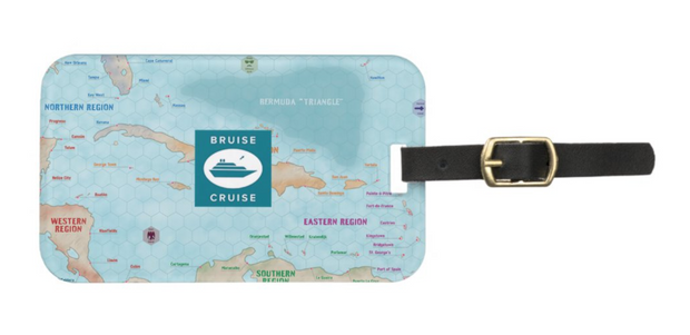Bruise Cruise Luggage Tag