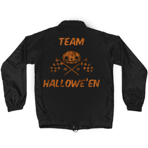 ".New! SDCC 2019 Coach Jacket: ""TEAM HALLOWE'EN"""