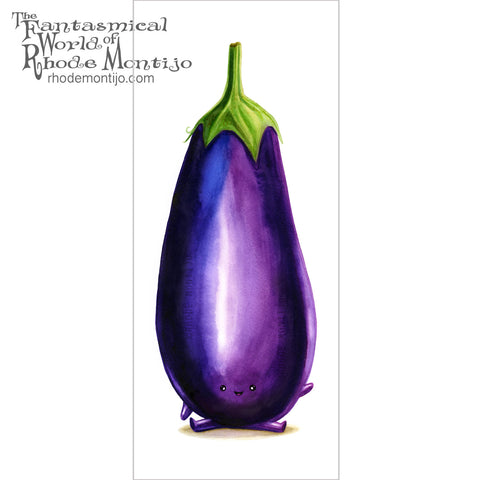 .New San Diego Comic Con 2017: Signed EGGPLANT print