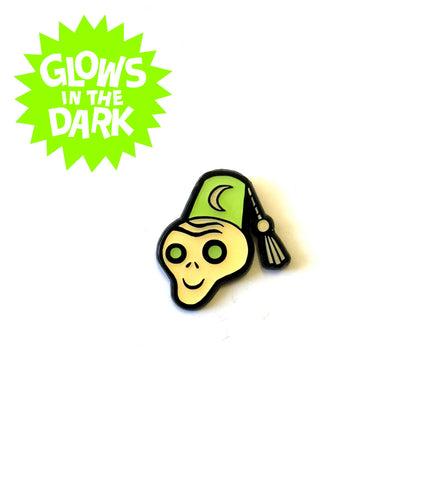 .New! SDCC 2019 Enamel Pin: Glow-In-The-Dark FEZ GHOUL