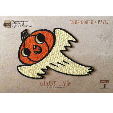 .New! San Diego Comic Con 2017 Embroidered Patch- GHOST JACK - Reduced Shipping for Pin Only Order