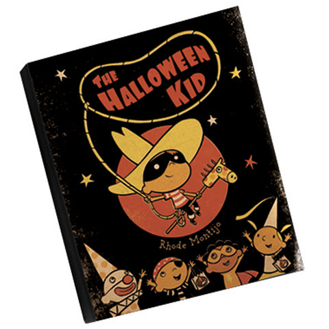 .Book: HALLOWEEN KID (signed with small sketch)