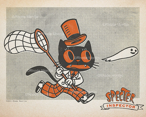 .New! Signed Print: SPECTER INSPECTOR