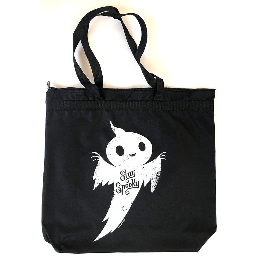 .New SDCC 2018 Goodie: Tote Bag STAY SPOOKY Ghost