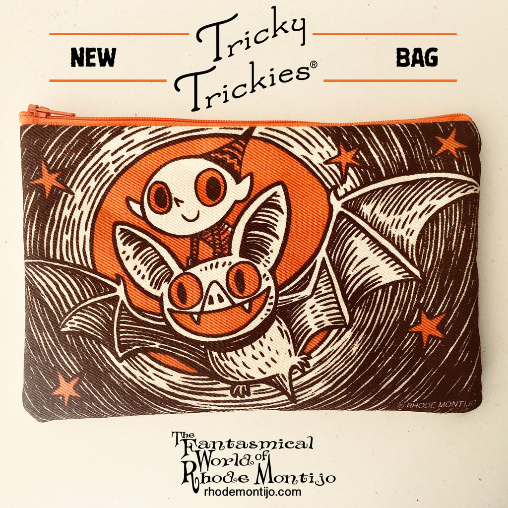 .New SDCC 2018 Goodie: TRICKY TRICKIES Bag
