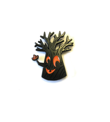 .New! SDCC 2019 Enamel Pin: SPOOKY TREE