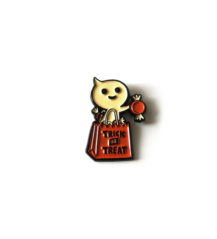 .New! SDCC 2019 Enamel Pin: Treat Bag Ghost