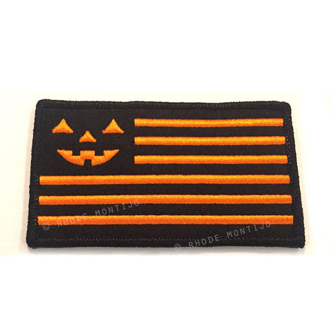"Embroidered Patch: ""UNITED"" Halloween Flag by Rhode Montijo"