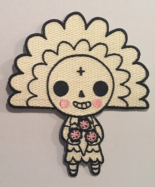 .New! San Diego Comic Con 2017 Embroidered Patch- SKELETOWN (girl)