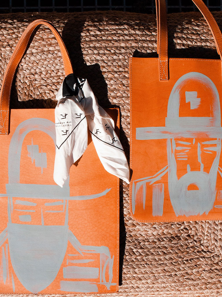 LAURA GOODSON ONE OF A KIND TOTE