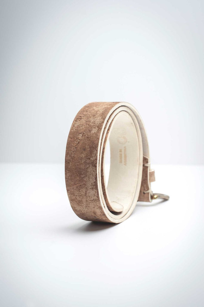 Pampas Gaucho  Leather Belt Oetlco Ora et Labora Collection