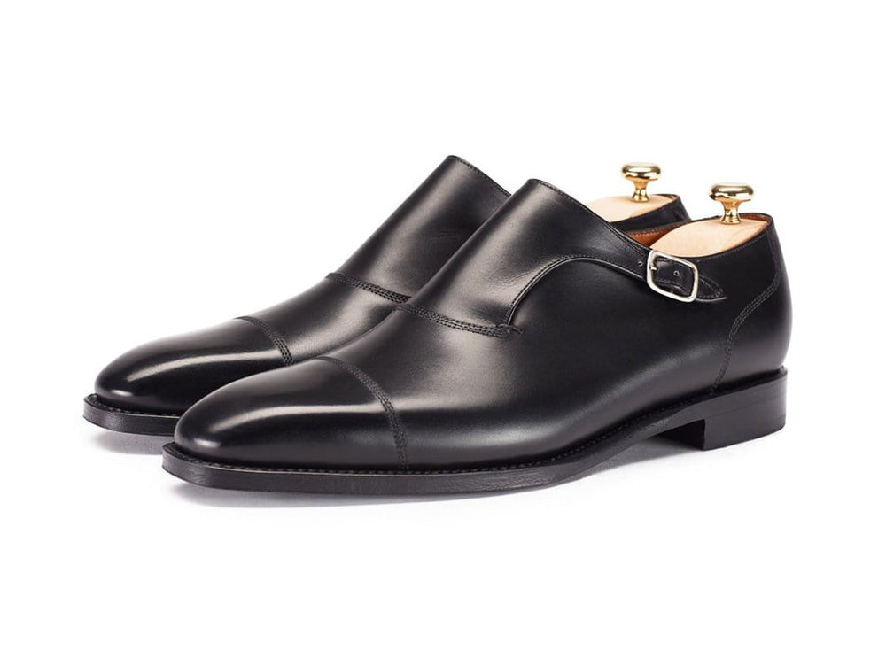 BESPOKESTORES Clothing, Shoes & Accessories:Men's Shoes:Boots Handmade Cap Toe Monk Cordovan Leather Men's Shoes