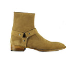 Madrid  Ankle High Suede Boot For Men's Stylish Wear