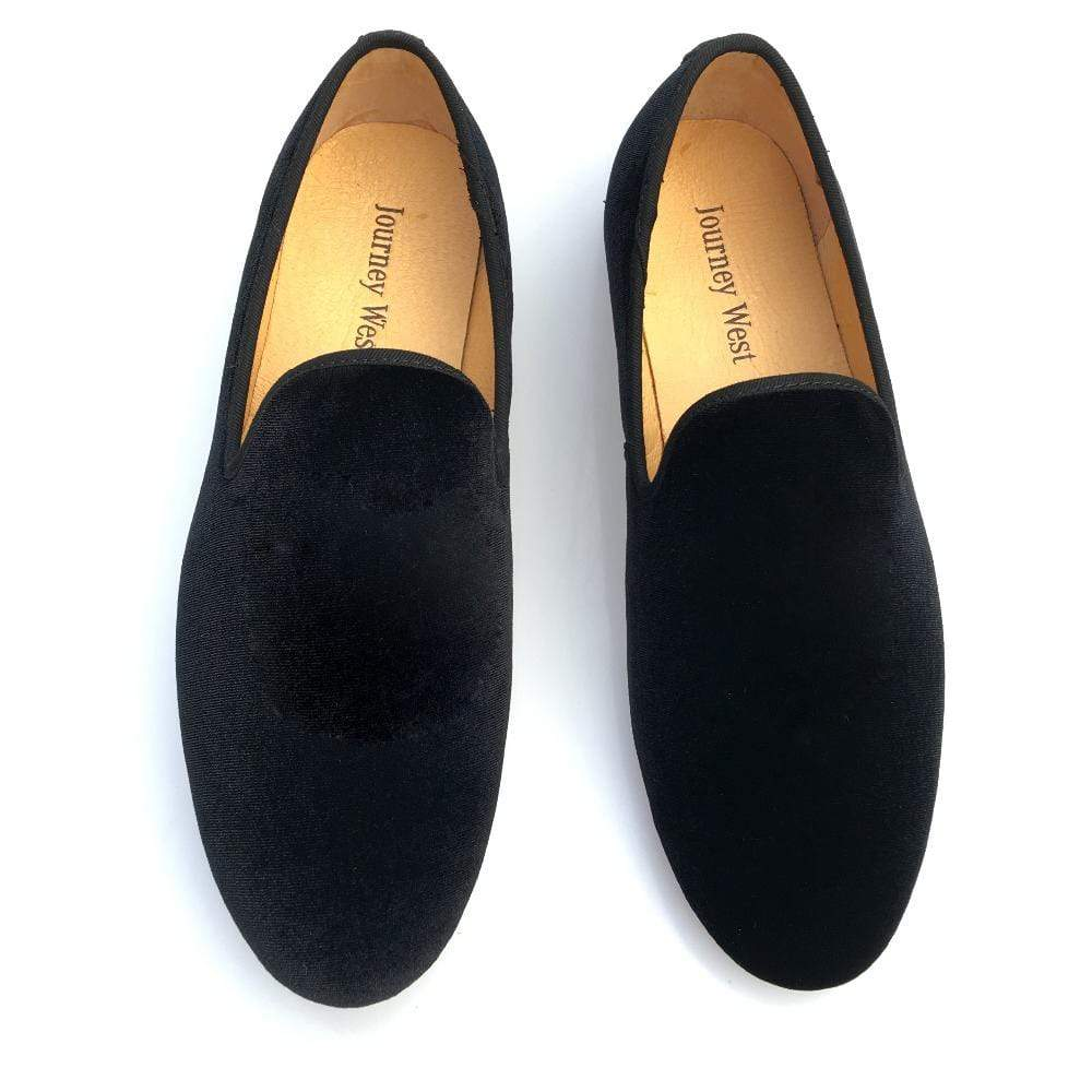 BESPOKESTORES Clothing, Shoes & Accessories:Men's Shoes:Boots New Flat Fashion Men Slip On Pure Velvet Loafers Moccasin