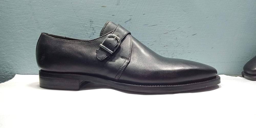 BESPOKESTORES Clothing, Shoes & Accessories:Men's Shoes:Boots Oxford Buckle Strap Pure Leather Balk Shoes For Men