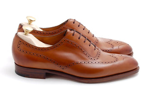BESPOKESTORES Clothing, Shoes & Accessories:Men's Shoes:Boots Oxford Tan Wing Tip Lace Up Brogue Leather Shoes For Men