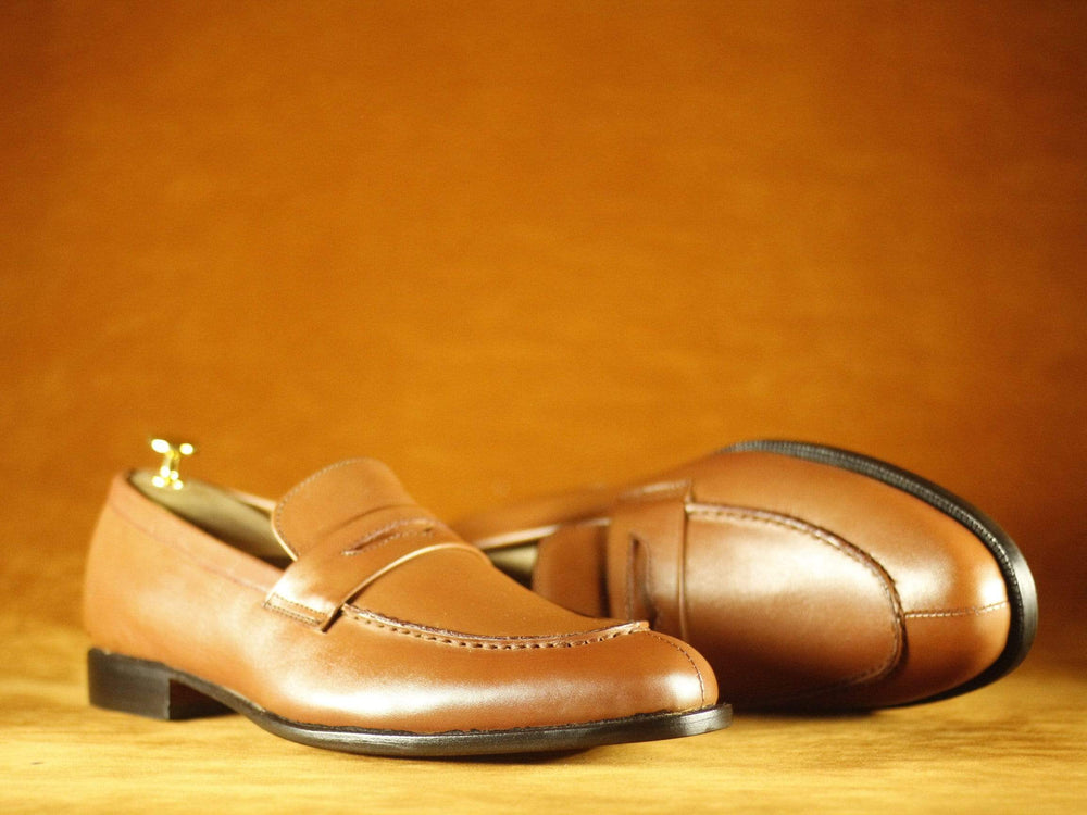 BESPOKESTORES Clothing, Shoes & Accessories:Men's Shoes:Boots Tan Color Round Toe Leather Men's Formal Foot Wear