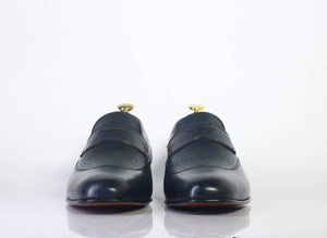 BESPOKESTORES dress shoes Copy of Bespoke Wing Tip Oxford Leather Shoes for Men's
