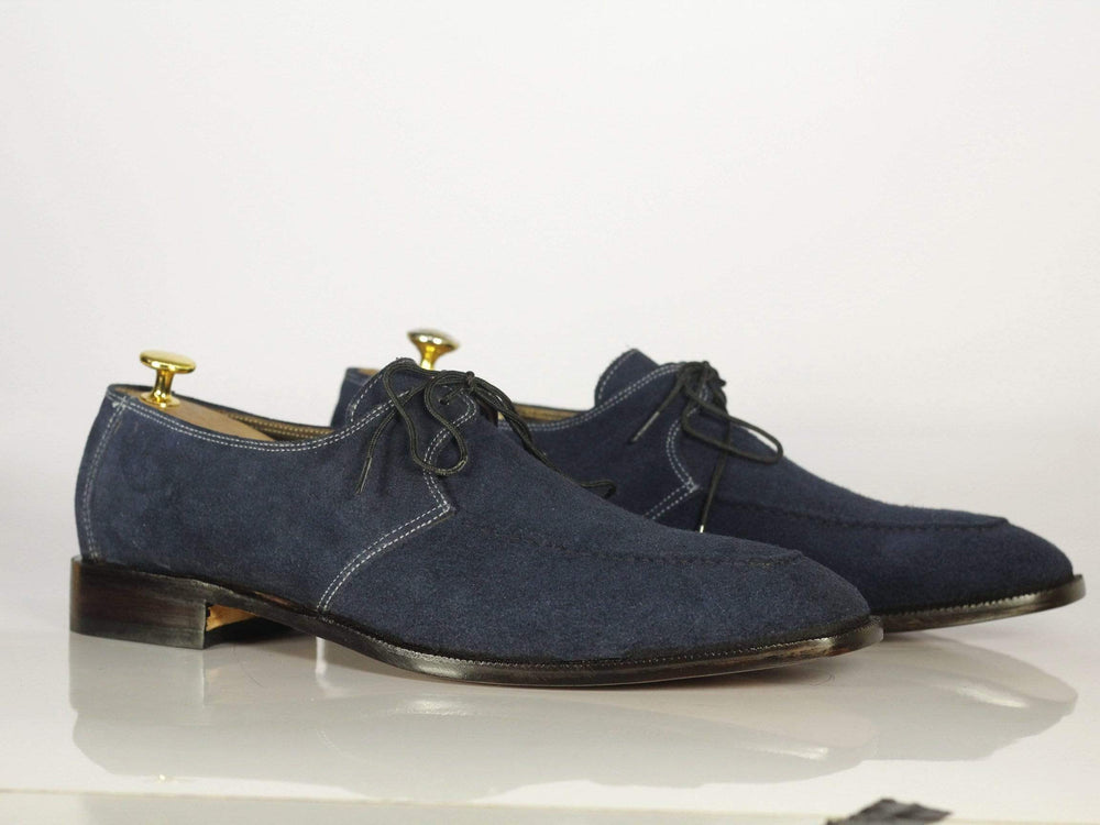 BESPOKESTORES dress shoes Copy of Bespoke Yellow & Grey Stylish Leather Shoes for Men's