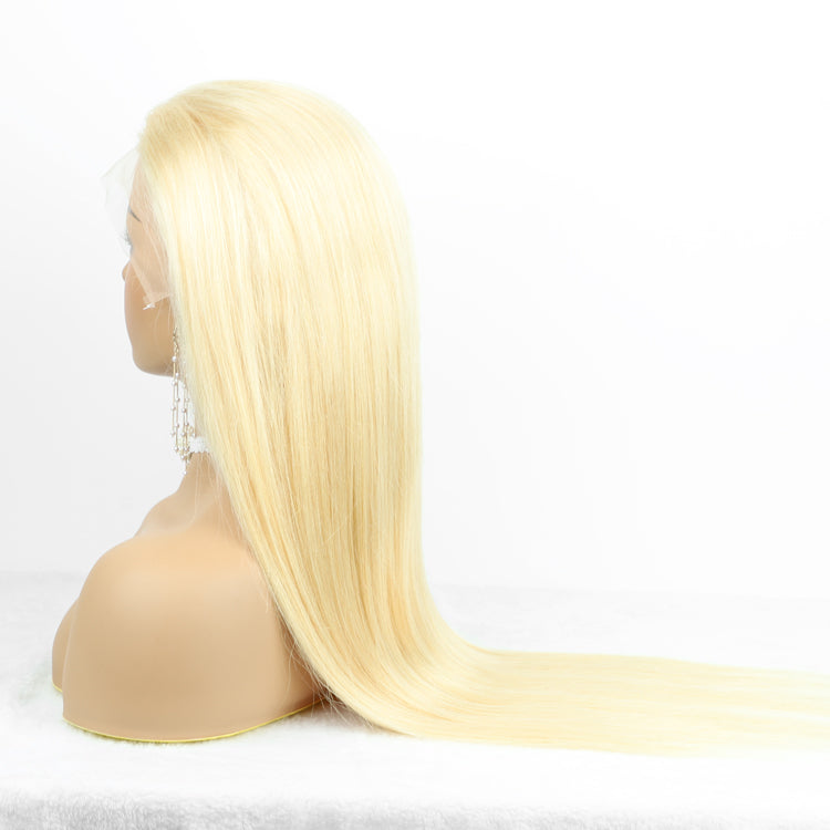 blonde straight 13*4 frontal wig