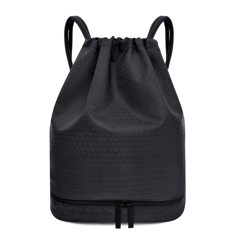 Drawstring Backpack with Shoe Box