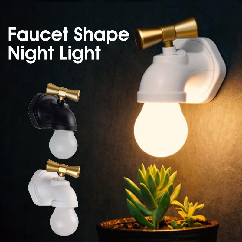 LED Inductive Faucet Nightlight