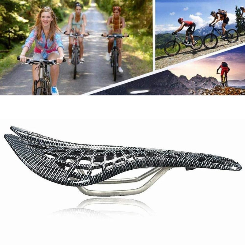 Bicycle Saddle Integrated Advanced Suspension