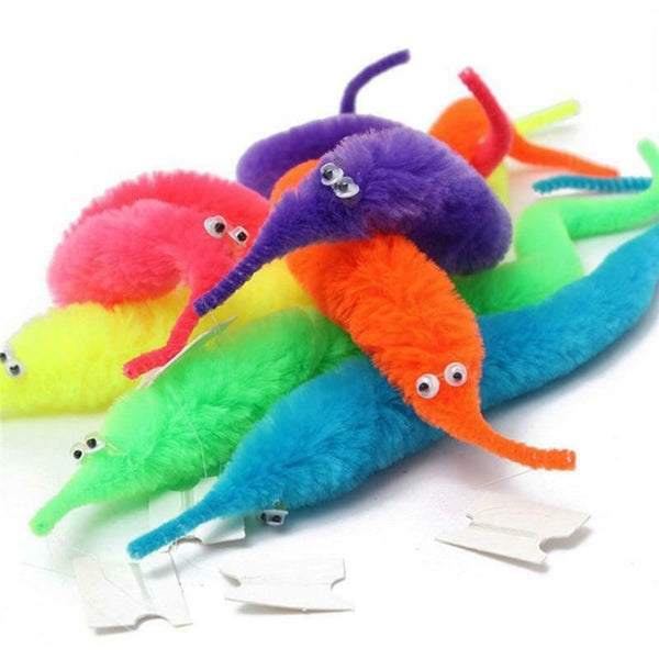 Twisty Fuzzy Worm Toys