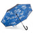 totes InBrella Reverse Close NeverWet Umbrella clouds open