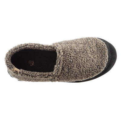 Men's Original Acorn Moccasins in Earth Tex Inside Top View