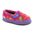 Kid's Original Acorn Moccasins in Fat Cat Pink Right Angled View