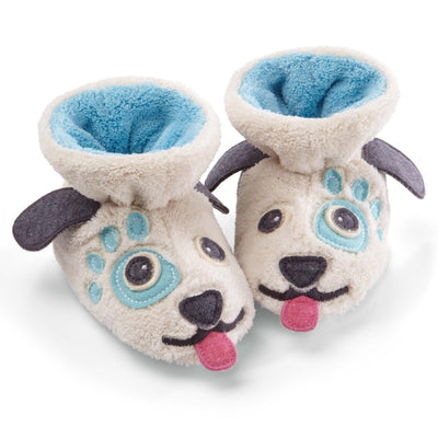 Toddler's Critter Booties Pair in Doggy