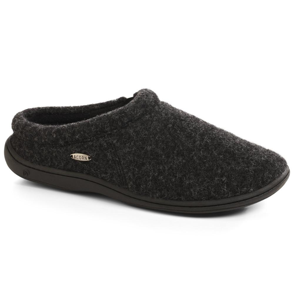 Men's Digby Gore Slippers  in Black Tweed