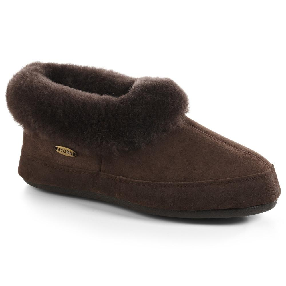 Women's Oh Ewe Boot Slippers in Coffee Bean Right Angled View