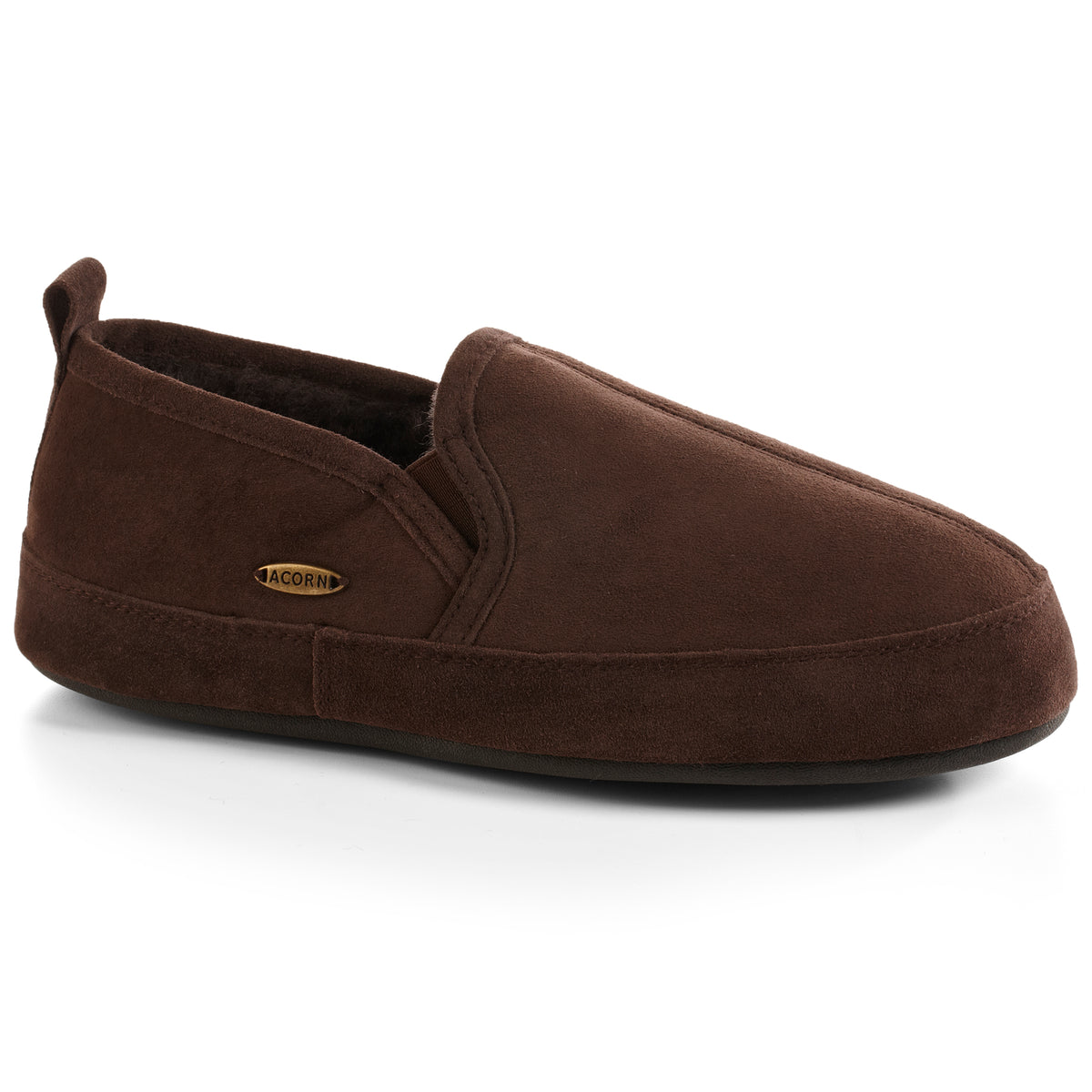 Acorn Men's Shearling-Lined Romeo Slippers