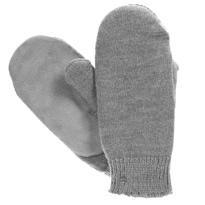 Isotoner Women's Classic Knit Mittens - SherpaSoft Lined