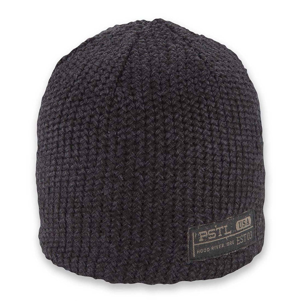 Men's Pistil Franco Chunky Knit Beanie in Black
